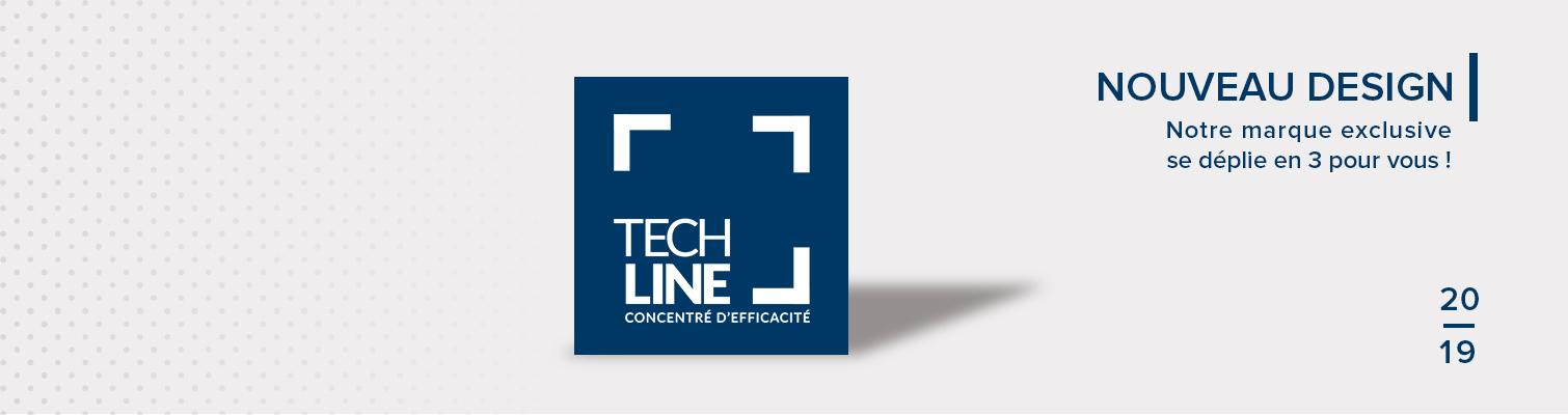 Une nouvelle identité pour Techline